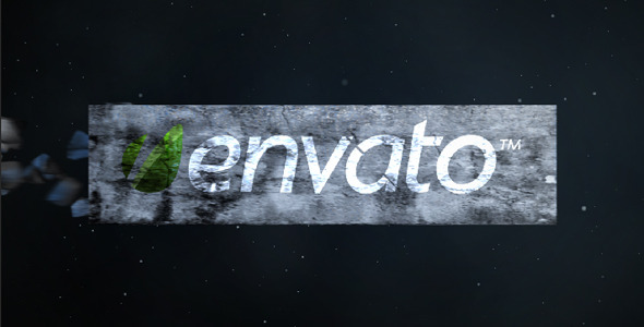 After Effects Project - VideoHive Shatter logo 1709871