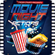 Movie Night Actions Flyer Template PSD