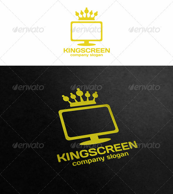 King Screen - Objects Logo Templates