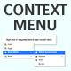 Native JavaScript Context Menu