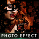 Pixel Shatter Photo Effect