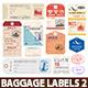 World Luggage Tags Set 2