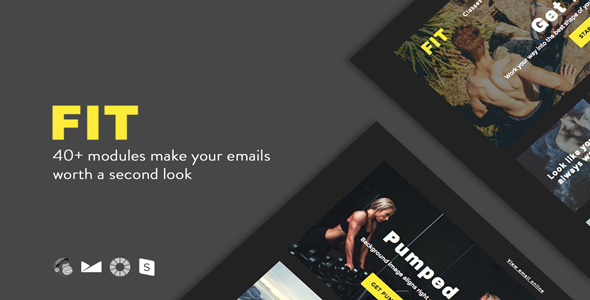 FIT - Responsive Email + StampReady Builder