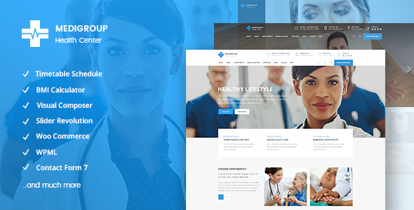 Download Medigroup – A Modern Multidisciplinary Medical & Health Theme nulled download