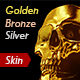 Golden, Silver, Bronze skin PS Action