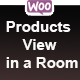 Woocommerce Products View in Room Popup