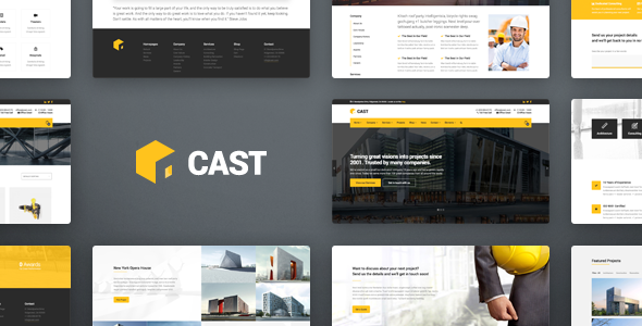 Download Cast - Construction & Building WordPress Theme nulled download