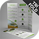Hexagon Tri-Fold Brochure Template