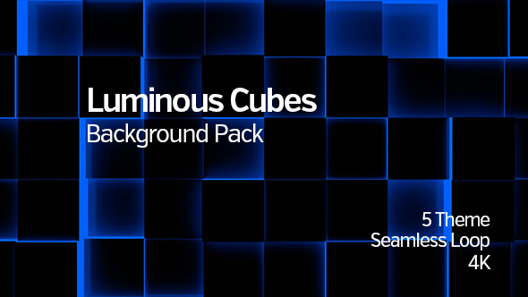 Download Illuminated Cubes Background-Pack nulled download