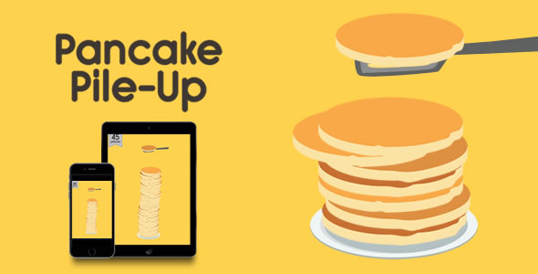 Download Pancake Pile-Up - HTML5 Game nulled download