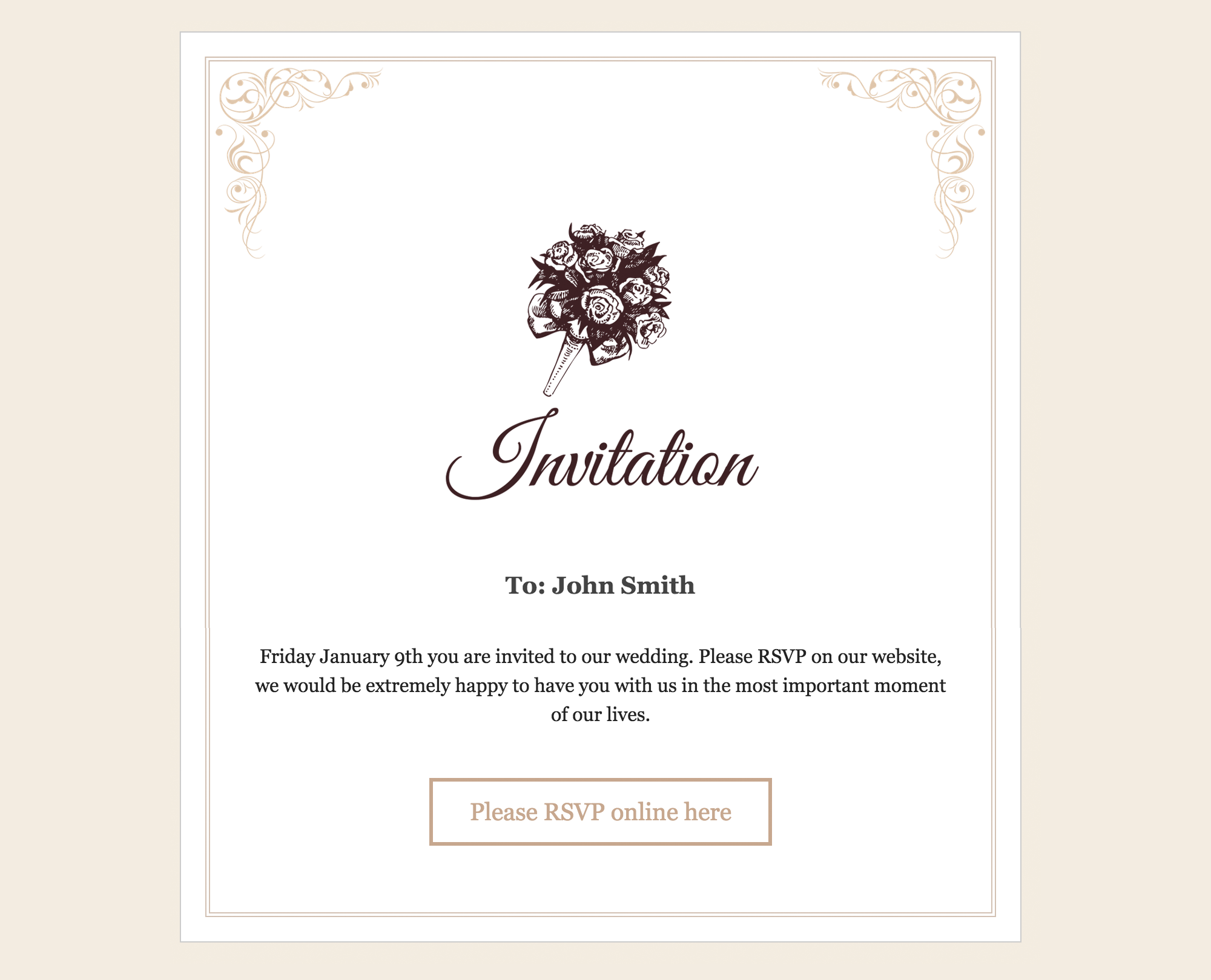 What Should Be Included In Wedding Invitation: RSVP And Wedding Invitation WordPress Plugin By
