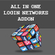 All in One Login Networks Add-on for CMS pro