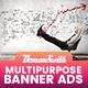Multi Purpose Banners HTML5 D4 - Google Web Designer