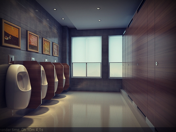 Bathroom Full Set - 3DOcean Item for Sale