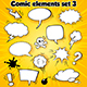 Comic Balloons and Effects Set 2