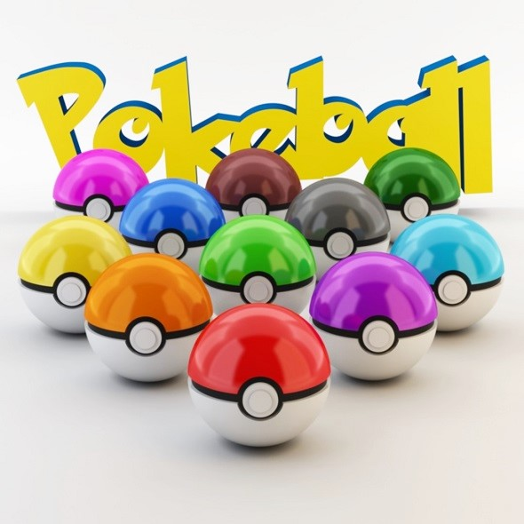 3DOcean Pokeball 3D 17205490