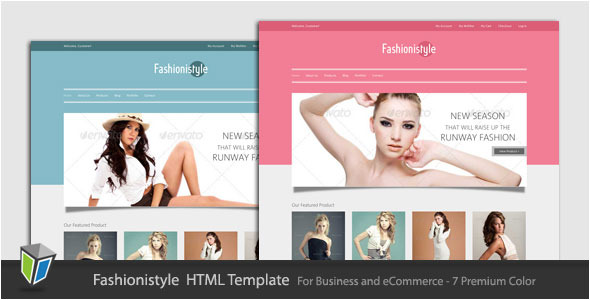 Fashionistyle - Fashion eCommerce HTML Template
