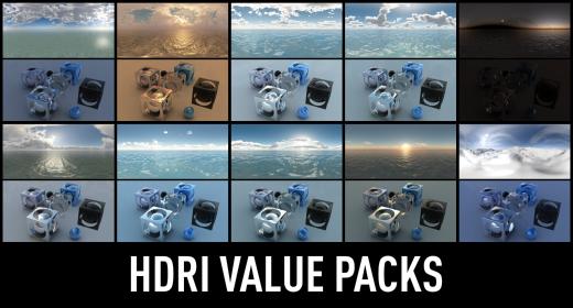 HDRI Value Packs