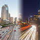 Los Angeles Day To Night