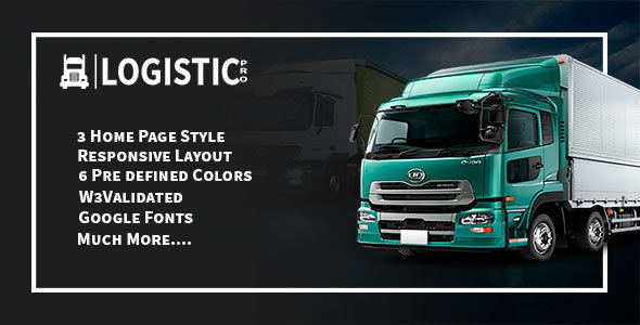 Download Logistic Pro - Cargo, Shipping, Warehouse, Logistic & Transport Template