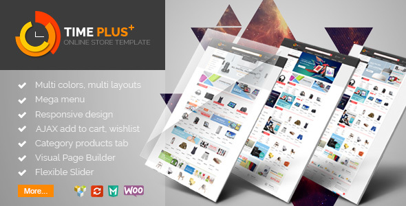 Download TimePlus - Mega Store Responsive WooCommerce Theme nulled download