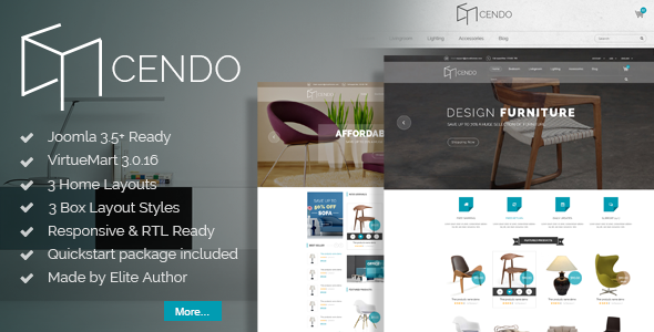 Image of Vina Cendo - Multipurpose Joomla Virtuemart Template