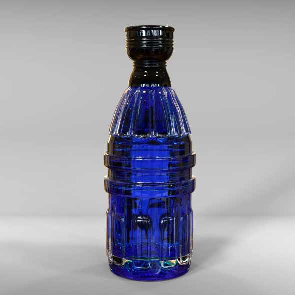 Perfume Bottle - 3DOcean Item for Sale