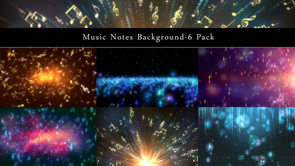 Download Music Notes Background-6 Pack nulled download