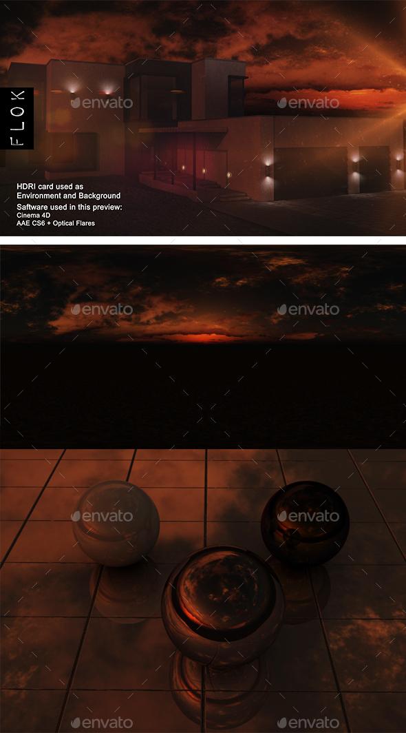 Sunset Desert 69 - 3DOcean Item for Sale