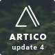 Artico - Responsive Coming Soon Template