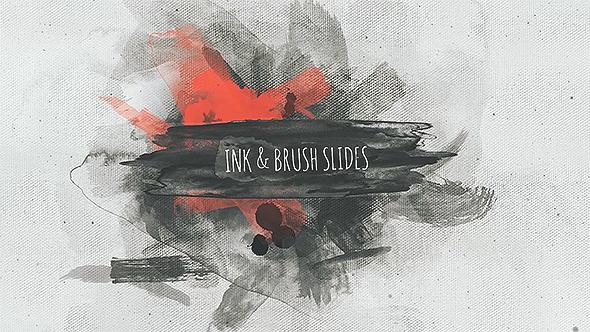 Ink & Brush Slides