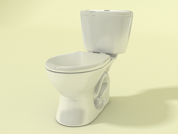 Ganamax toilet - 3DOcean Item for Sale