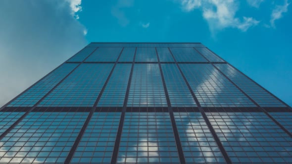 VideoHive Corporate Buildings Blue Sky and Clouds 17231356