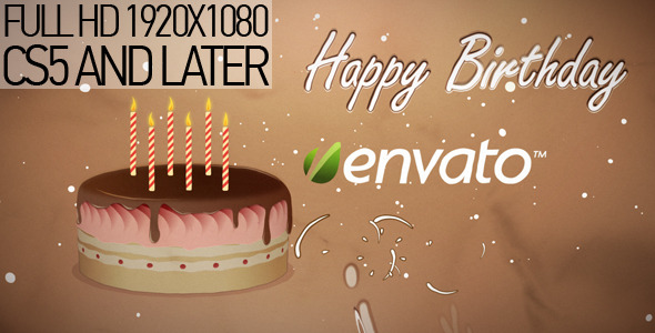 After Effects Project - VideoHive Happy Birthday 1715031