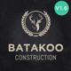 Batakoo - Modern Construction WP Theme