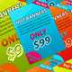 Hot Web Banners - GraphicRiver Item for Sale