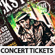 Rock Festival Concert Tickets