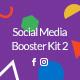 Social Media Booster Kit 2: Instagram, Twitter & Facebook Templates
