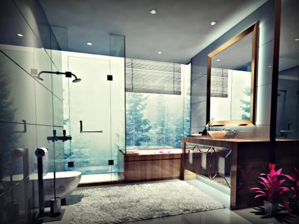 Bathroom Full Set No: 2 - 3DOcean Item for Sale