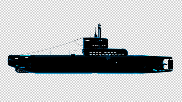Download Submarine - Uboot - 3D Outline nulled download
