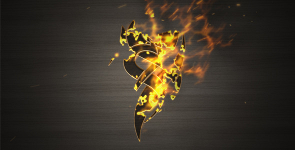 After Effects Project - VideoHive Burn Up Logo 1715800