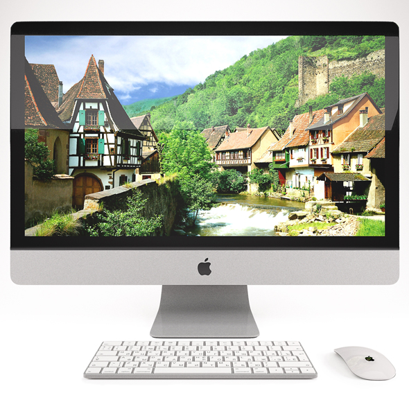 iMAC 27 - 3DOcean Item for Sale
