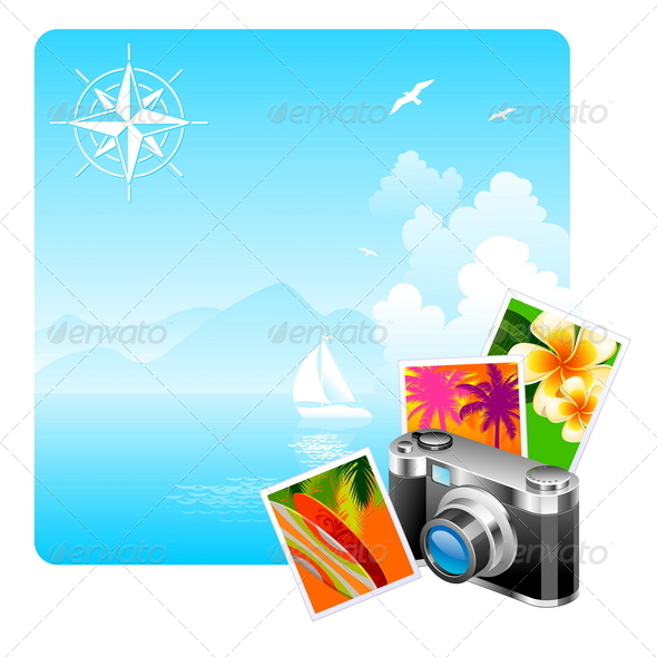 GraphicRiver Camera Travel Pictures & Idyllic Landscape 1715937