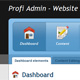 Profi Admin - Administration for the professionals - ThemeForest Item for Sale
