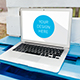 Realistic Laptop Screen Mockup - 6 PSD Files