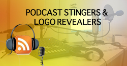 Podcast Stingers and Logo revealers