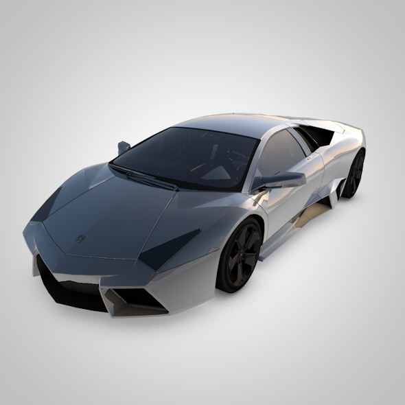 Lamborghini Reventon - 3DOcean Item for Sale