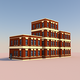 Low Poly Buildings 001