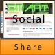Смарт Соціальна Поділіться - WorldWideScripts.net пункт для продажу