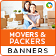 Movers and Packers Service HTML5 Banners(BEE-107)